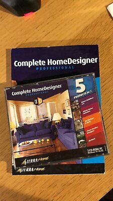Complete HomeDesigner Professional 3D (5 Products In 1) • 1.99£