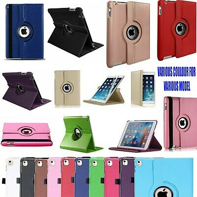 Case Cover For IPad 2/3/4 Mini Air 1/2 Leather 360 Degree Rotating Smart Stand  • 3.99£
