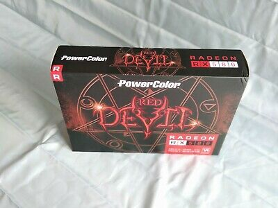 PowerColor Radeon RX 580 RED DEVIL 8GB DDR5 GRAPHICS CARD *BOXED* • 144.95£