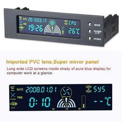 5.25  Inch Bay Front LCD Panel 3 Fan Speed Controller CPU Temperature Sensor  • 11.95£