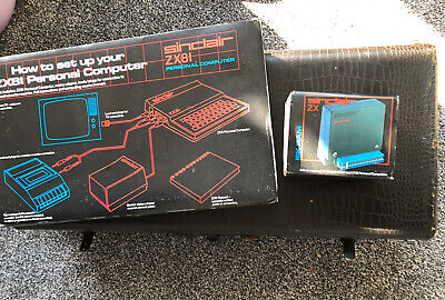 Sinclair ZX81 Personal Computer With Power Leads Book And Extra Ram • 26.99£