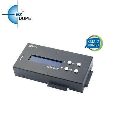 Hard Drive Cloner 1 To 2 Portable Duplicator Sanitizer Eraser Copier • 500.75£