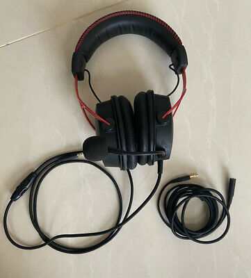 HyperX Cloud Alpha - Gaming Headset With In-line Volume Control Good Condition • 34.99£