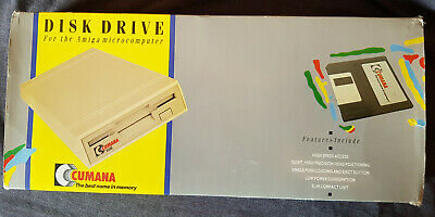 Cumana External Floppy Drive - Boxed And Fully Working. • 21.50£