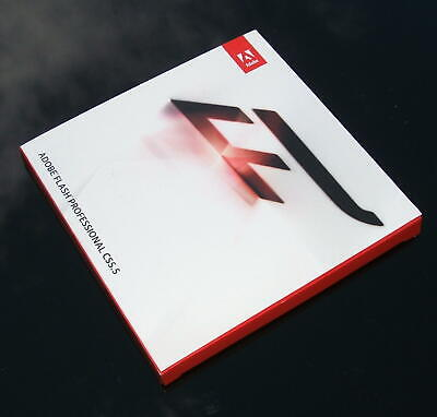 Adobe Flash Professional CS5.5 BRAND NEW, With Serial Number Key • 50£