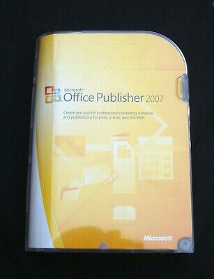 Microsoft OFFICE PUBLISHER 2007. With Product Key • 19.99£