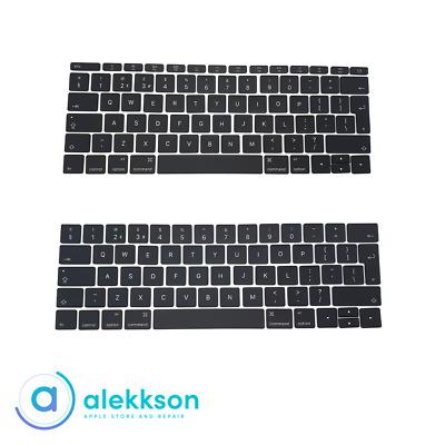 Apple Macbook Pro Retina 13 Inch A1706 A1708 Keycaps Replacement 2016 2017 • 14.99£