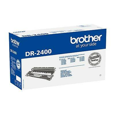 Genuine Brother DR2400 Black Drum Unit DCPl2510 L2530 HLl2310 DR-2400 A2ZD • 49.99£