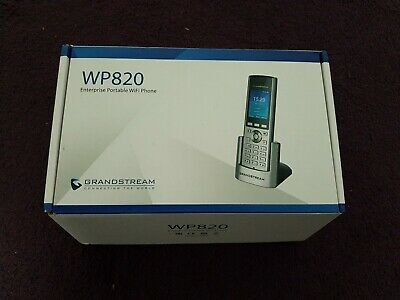 WP820 Grandstream WP820 WIFI PHONE :: WP820  (Phones > VOIP Telephony)  • 210£
