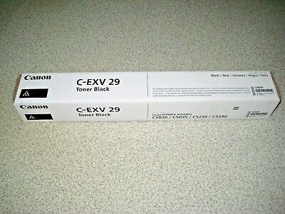 Genuine Original Canon C-exv 29 Black Toner Cartridge New Sealed • 35£