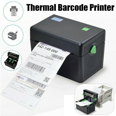 XP-DT108B Portable Direct Thermal Label Barcode 127mm/s High Speed 4x6''Printer· • 65.99£
