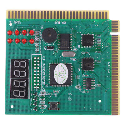 Motherboard Tester Diagnostics Display 4-Digit PC Computer Mother Board Analo • 3.29£