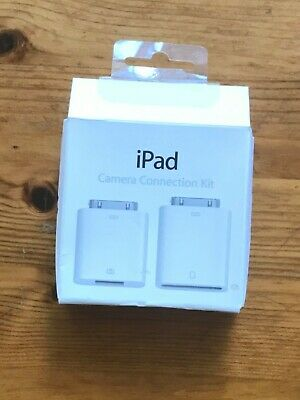 Apple IPad Camera Connection Kit, Opened Never Used. • 2.35£