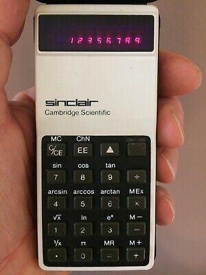 Sinclair Cambridge Scientific Calculator Fully With Working Multi Function Keys • 10£