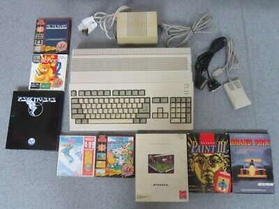 COMMODORE Amiga 500 1mb Computer & Accessories & Games • 56£
