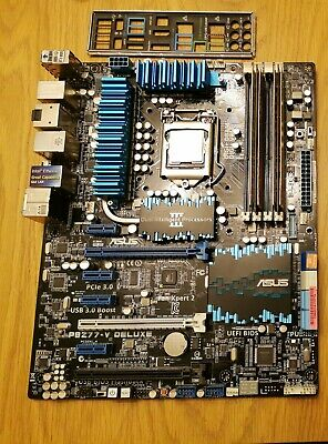 ASUS Z77 Motherboard, Intel 2500k And 8Gb DDR3 • 2.45£