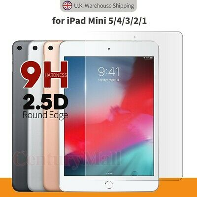 Full Cover Tempered Glass Screen Protector For IPad Mini 5 4 3 2 1 7.9  2019 • 3.45£