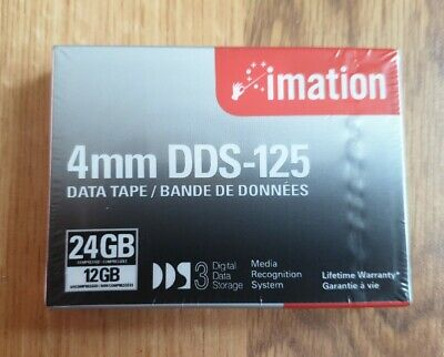 Imation 4mm DDS-125 12GB/24GB Data Tape • 2£