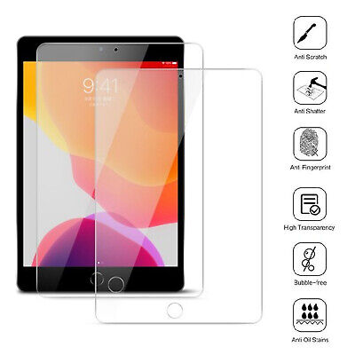 2 Pack Tempered Glass Screen Protector For Apple IPad 10.2 (2020) 8th Generation • 4.29£
