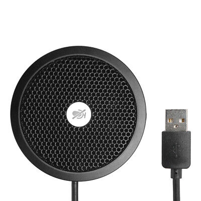 USB Omnidirectional Microphone Video Conference Gaming Speaker For PC PS4 • 14.58£
