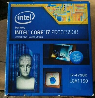 Intel I7 4790k Cpu. Lga 1150 • 88£