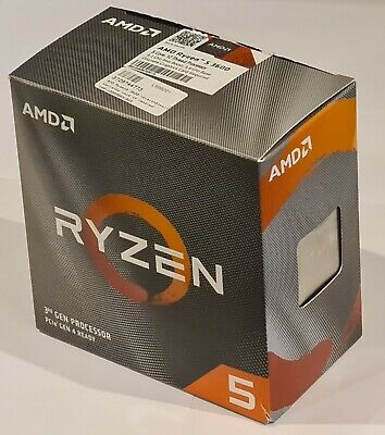 AMD Ryzen 5 3600 CPU - 3.6Ghz Hexa Core (100100000031BOX) • 167.36£