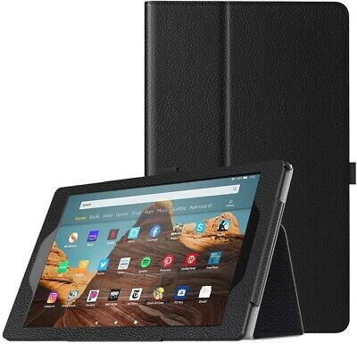 For Amazon Fire HD 10 (2019) Case Leather Folio Stand Tablet Cover (9th Gen) • 6.95£