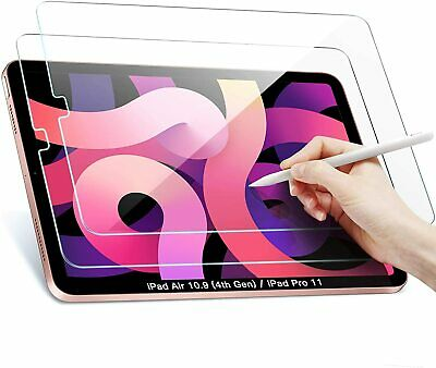 2 Pack Tempered Glass Screen Protector For IPad Air 4th Generation 2020 10.9 In • 4.99£