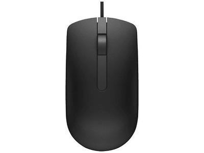 Dell MS116 USB Wired Optical Mouse - BLACK • 7.95£