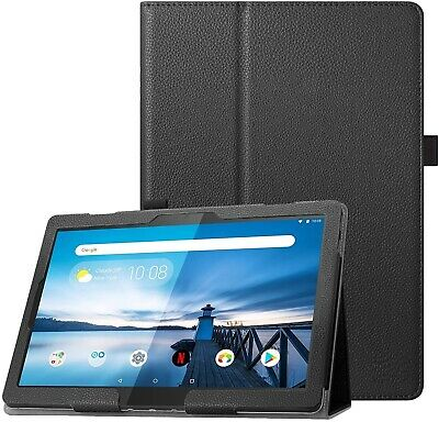 For Lenovo Tab M10 Case Leather Folio Stand Tablet Cover TB-X605F • 6.95£