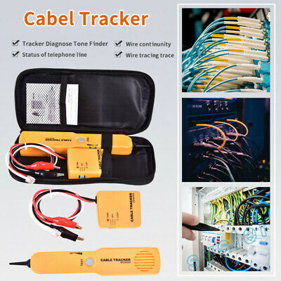 Wire Cable Tracker Tester Network Short Circuit Tester Wire Tracker Kit.UK • 9.69£
