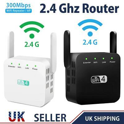 300Mbps Wifi Extender Dual-Band Repeater Wireless Router Range Signal Booster UK • 12.29£