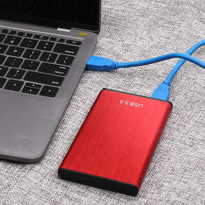 External HDD Portable Solid State Drives USB 3.0 500GB 1TB 2TB Mobile Hard Drive • 24.62£