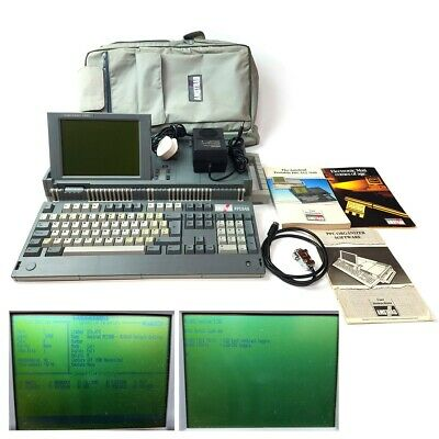 AMSTRAD Personal Computer PPC640 + Manuals - Software - Bag + Warranty • 134.99£
