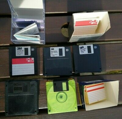 3.5  Floppy Disks 31 Unused With New Labels High Density 1.44 MB & 2.0 MB • 19.99£