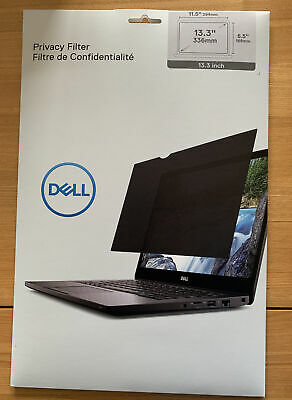 Dell DELLPF13 13.3-Inch 16:9 Anti-glare Frameless Display Privacy Filter- Sealed • 5.90£