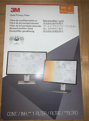 NEW! 3M Gold Privacy-filter 24  GF240W9B • 18£