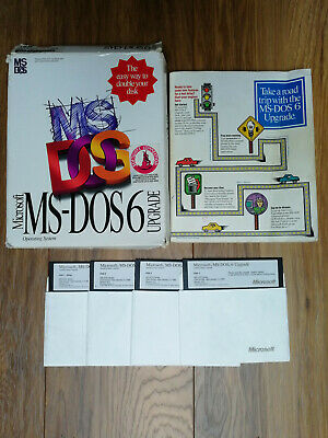 Microsoft MS-DOS 6 Operating System Upgrade Pack • 8.70£