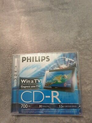 Phillips CD-R 700MB New And Sealed • 2£