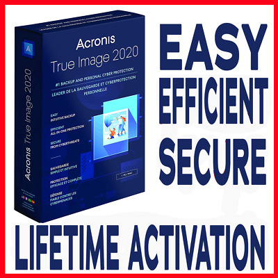 Acronis True Image 2020 Latest Version • 6£