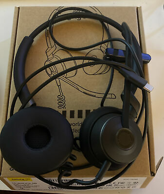 Jabra Engage 50 Headset With Adaptor And Case - Opened But Never Used • 0.99£