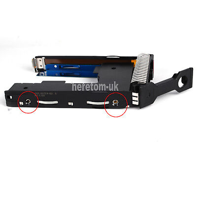 HP 651314-001 3.5 SAS HDD Tray Caddy W/ 2.5 Adapter For DL380p DL360p DL385 G8 9 • 16.99£