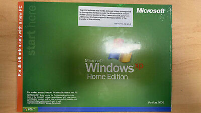 Microsoft Windows XP Home Edition OEM • 14.93£