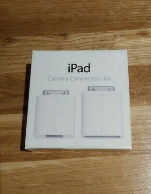 Genuine Apple IPad Camera Connection Kit: Connect USB & SD Cards To Your IPad • 3£