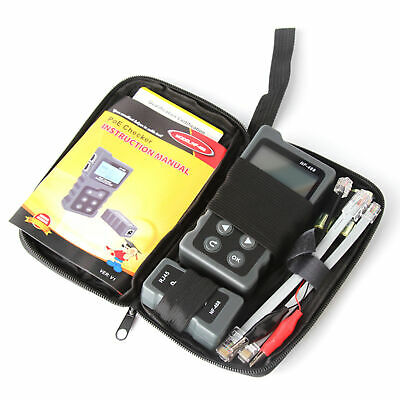 LCD Network Cable Tester PoE Checker Inline PoE Voltage & Current Tester C6O8 • 23.07£