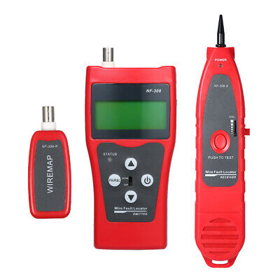 Multi-functional LCD Network Cable Tester High Precision Line Finder L2K5 • 39.52£