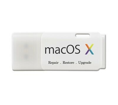 Mac OS X Bootable USB Recovery Kit • 16.50£