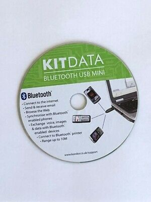 KITDATA Bluetooth USB CD Disc • 0.50£