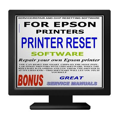ULTIMATE PRINTER RESET FOR EPSON PRINTERS COMPATABLE WITH 100's OF MODELS +BONUS • 2.25£