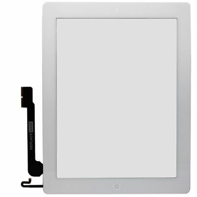 Screen Digitizer For Apple IPad 4 Retina White Replacement Touch Glass Assembly • 24.60£